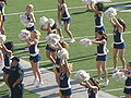 Cal Dance Team at 2008 Big Game 2.JPG