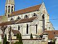 Cambronne-lès-Clermont (60), église Saint-Étienne, vue depuis le sud-est 4.jpg