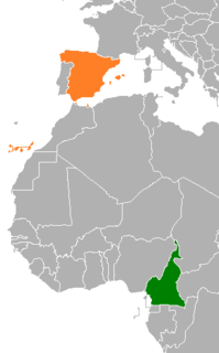 Cameroon–Spain relations