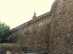 Fortress of Camporgiano.