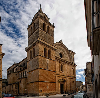 Campos, Spain - Church of St. Julian.