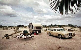 """Ohio Key - Image: Campsite at Ohio or """"Sunshine"""" Key, Florida"""