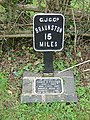 Canal Milepost at Banbury Lane - geograph.org.uk - 644902.jpg