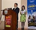 """Canciller Patiño asiste al lanzamiento del programa de becas de la SENESCYT """"Convocatoria Abierta 2011"""" (5372887839).jpg"""