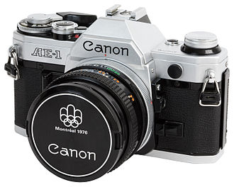 Canon AE-1 - Image: Canon AE 1 with 50mm f 1.8 S.C. II