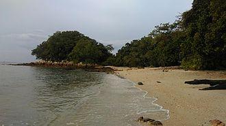 Tanjung Tuan - Beach in Cape Rachado.