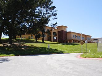 Capuchino High School - Administration building