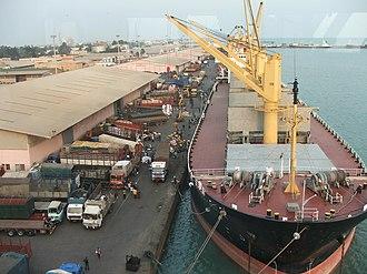 Littoral Department - Cargo handling in the region