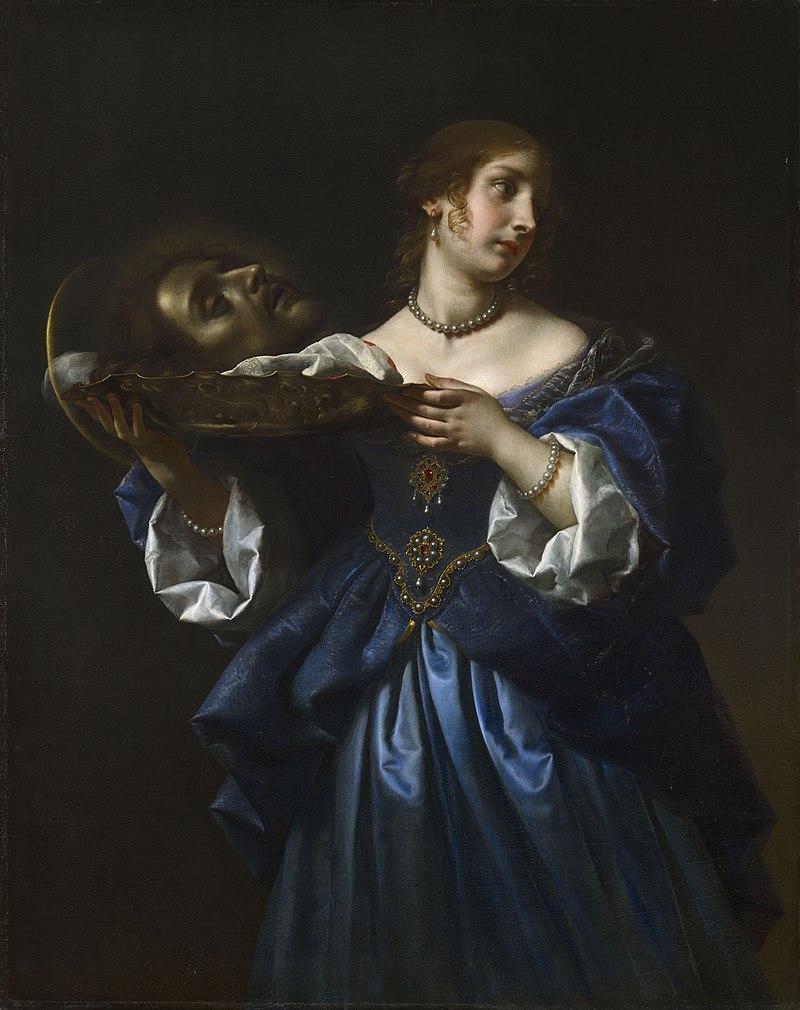 Карло Дольчи (Флоренция 1616-86) - Саломея с головой Иоанна Крестителя - RCIN 405639 - Royal Collection.jpg