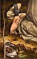 Carlo crivelli, visione del beato gabriello, 1489 ca., da s. francesco alto ad ancona 05 zoccoli, anatra.jpg
