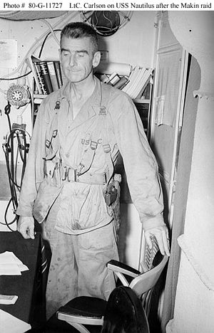 LtCol Evans Carlson, USMC, Carlson's Raiders a...