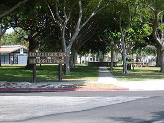 Dr. Paul Carlson Park - Carlson Park