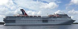 Carnival Elation - Image: Carnival Elation In Jacksonville 2