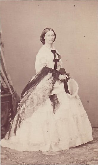 Carola of Vasa - Carola - Crown Princess of Saxony, 1860s