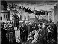 Carpaccio - vie de saint Étienne, la prédication (grande taille).png