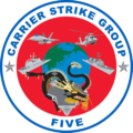 Carrier Strike Group Five logo.png