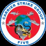 Carrier Strike Group Five logo.png