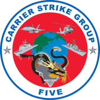 Carrier Strike Group 5 U.S. Navy carrier strike group