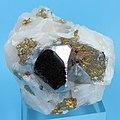 Carrollite, Chalcopyrite, Calcite-425160.jpg