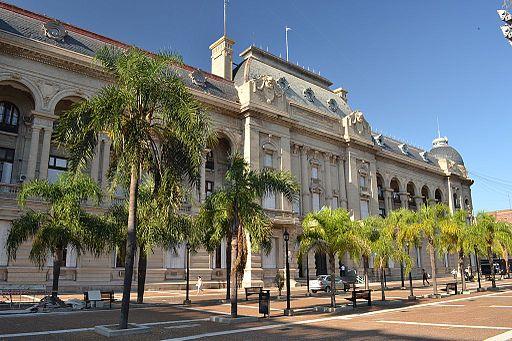 Casa de Gobierno de Santa Fe (fachada)