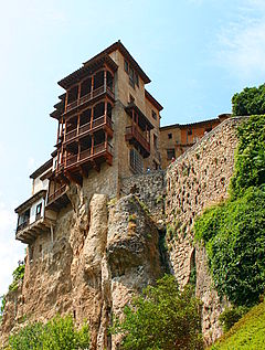 An Hanging House kan Cuenca