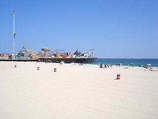 Casino Pier Amusement park in Seaside Heights, New Jersey