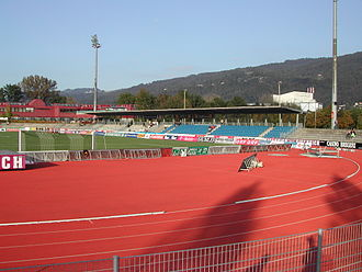 Casino Stadium - Image: Casino Stadion opposite stand