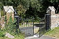 Cast iron church gate at Monkton Kent England.jpg