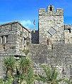 Castle Rushen and the Queen Elizabeth clock - geograph.org.uk - 1455204.jpg