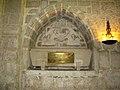 Castromonte monasterio Santa Espina iglesia capilla san Rafael sepulcro Cabestany ni.jpg
