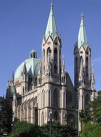 Roman Catholic Archdiocese of São Paulo - Metropolitan Cathedral of Our Lady of the Assumption and St. Paul