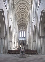 Inside of the Cathedral of Magdeburg, looking towards east