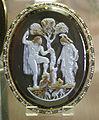 CdM, atena e poseidne (o adamo ed eva nel paradiso terrestre), italia del sud XIII sec..JPG