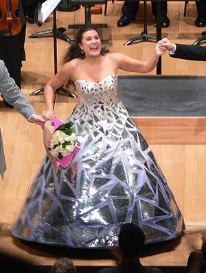 Cecilia Bartoli - Bartoli at the Salle Pleyel, Paris, 2008