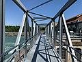 Centrale hydroélectrique de Cusset en mai 2020 - nouvelle passerelle de visite (2).jpg