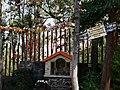 Cerro de la Estrella- shrine to Virgen Guadalupe on road.jpg