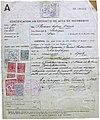 Certificación en extracto de acta de nacimiento. 19.08.1901. Fermín Penzol. 22.11.1949.jpg