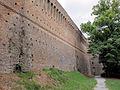 Cesena, rocca malatestiana, mura 02.JPG