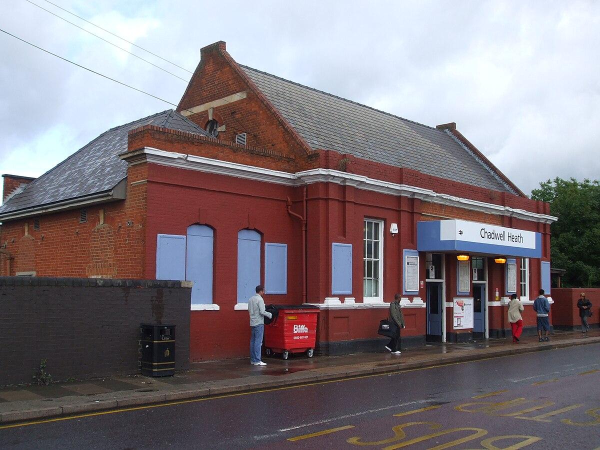 Chadwell Heath railway station - Wikipedia