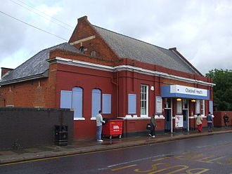 Chadwell Heath railway station - Station building and entrance