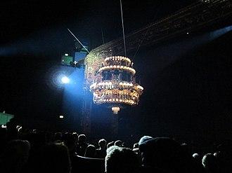 Megamusical - Image: Chandelier of The Phantom of the Opera, Białystok 02