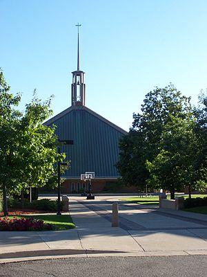 Concordia University Ann Arbor - Image: Chapel Concordia University Michigan