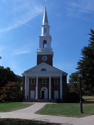 Ethel Walker School - Chapel at The Ethel Walker School