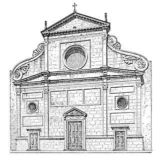 San Trifone in Posterula - Beginning in the 1480s, the complex of buildings surrounding the Basilica of Sant'Agostino would swallow up the small church of San Trifone.