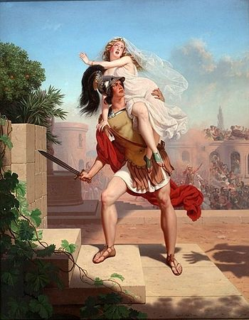 The Rape Of The Sabines: The Abduction .