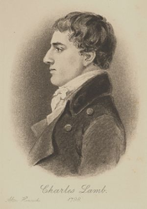 Charles Lamb (1775-1834), an English essayist ...