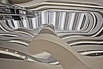 Charles Perkins Centre - Image: Charles Perkins Centre atrium looking upward