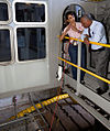 Charlie Bolden and Mary Hanna on crawler-transporter 2 in 2012.jpg