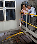 Charlie Bolden and Mary Hanna on crawler-transporter 2 in 2012.jpg