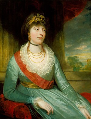 Charlotte, Princess Royal - Portrait by Sir William Beechey